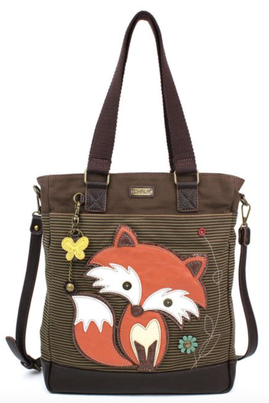 Fox Striped Work Tote