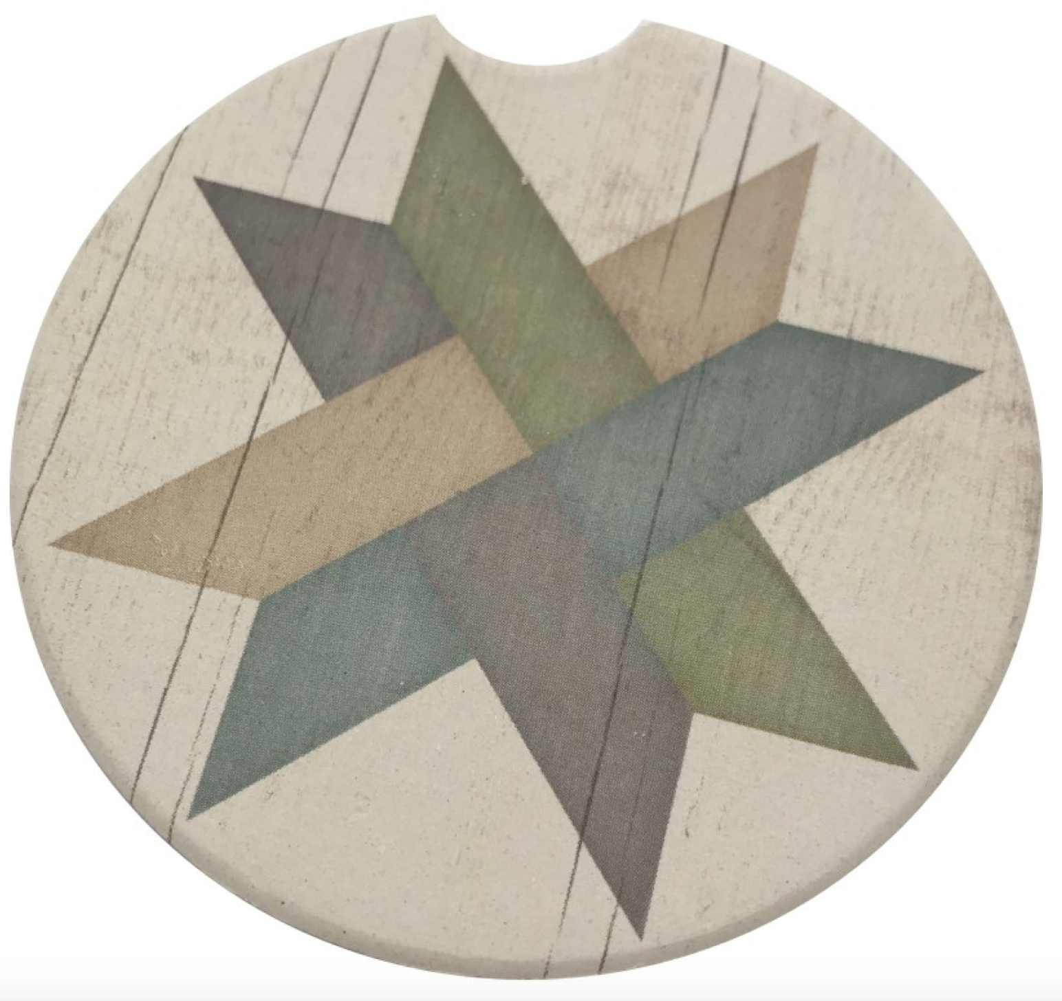 Weave Star Car Coaster Absorbent Stone