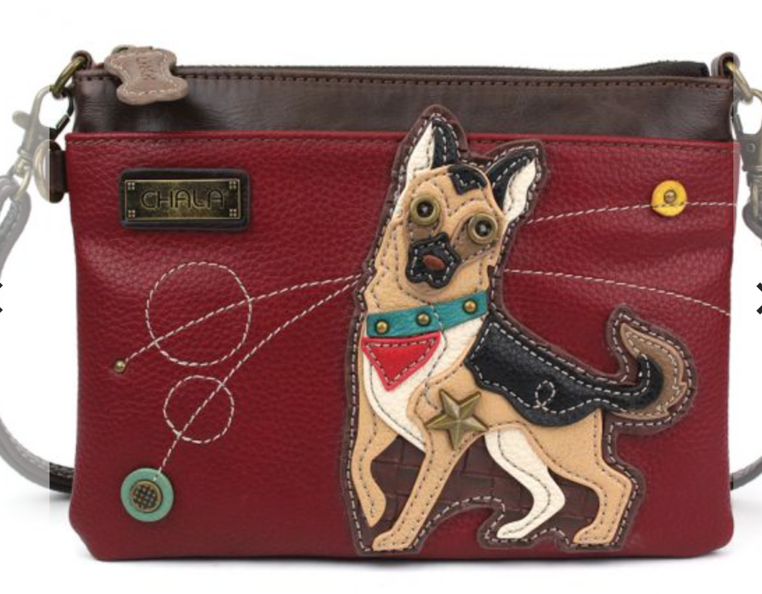 German Shepard Mini Crossbody