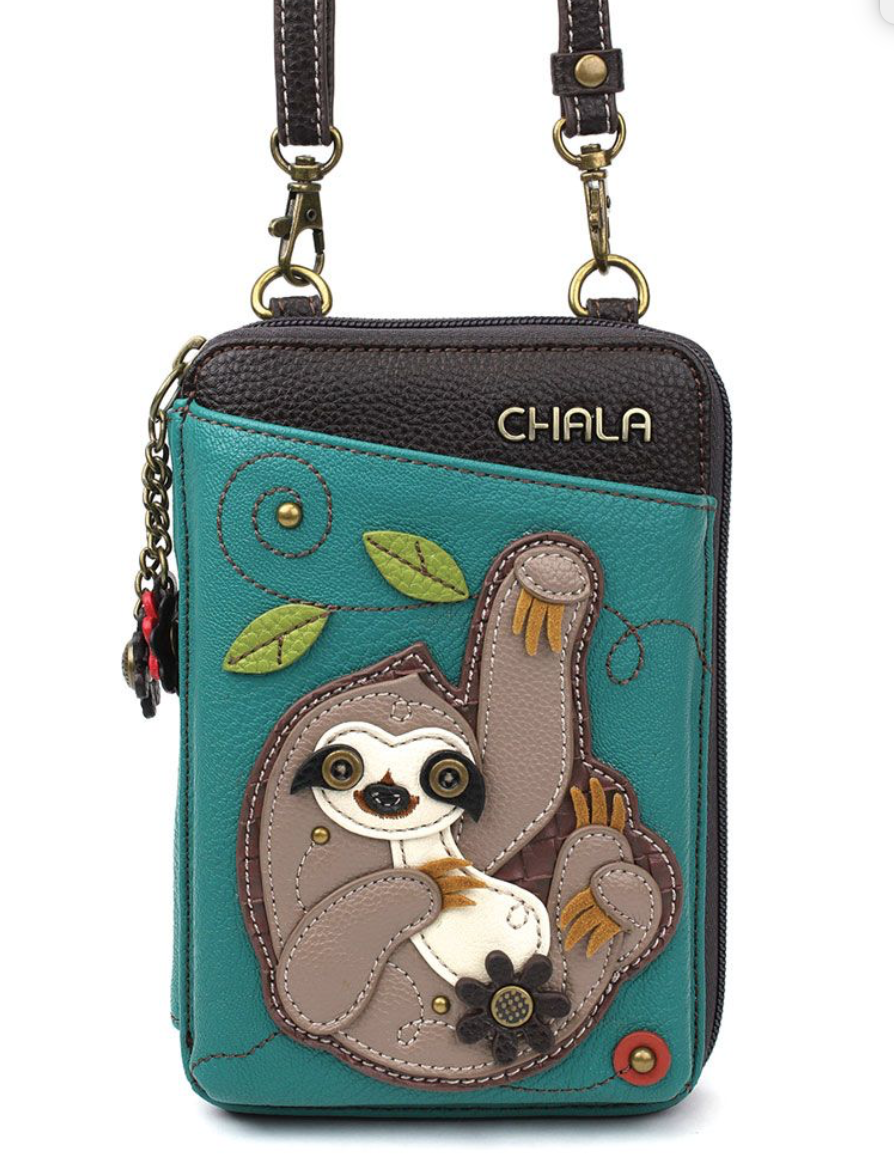 Sloth Wallet Crossbody