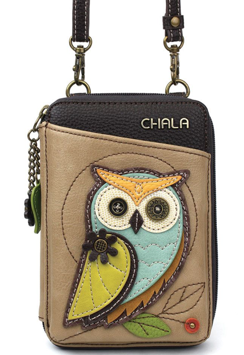 Owl Wallet Crossbody Purse