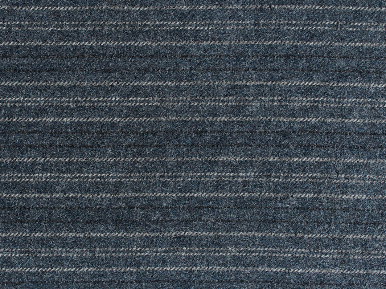 Overalls Blue Stripes 100% Wool 18 X 21