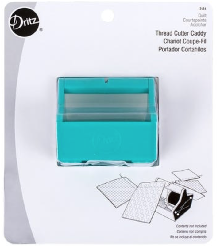 Thread Cutter Caddy With Magnetic Sides