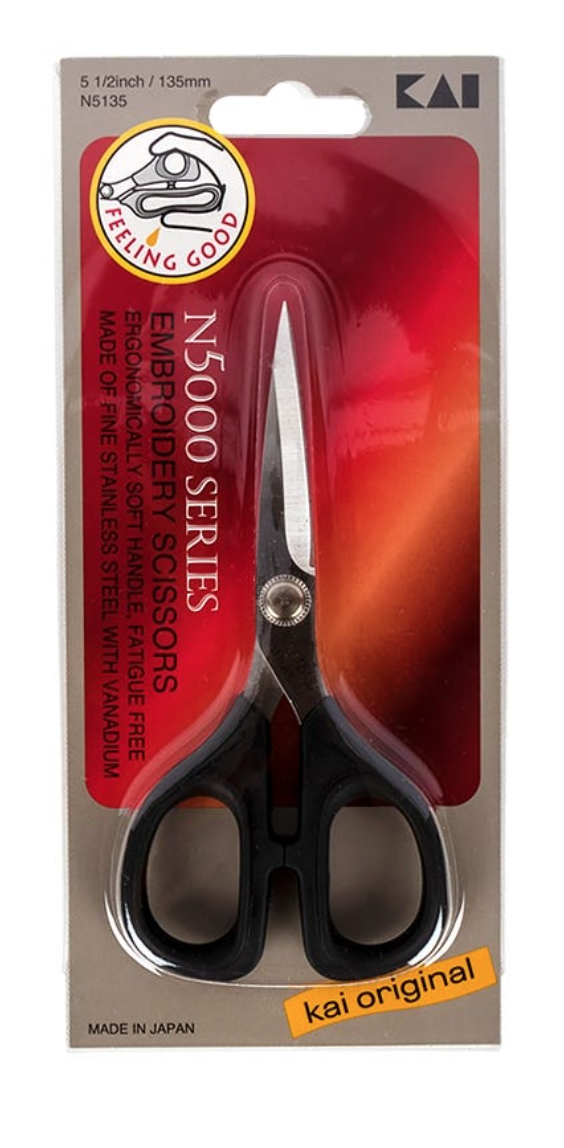 Kai Straight Blade Embroidery Scissor 5.5