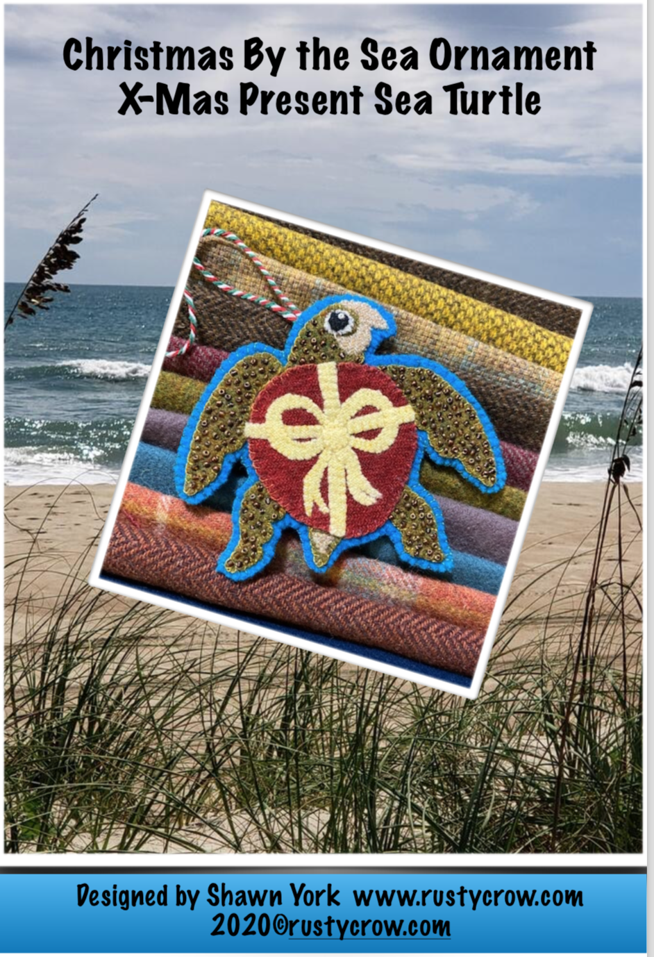 Christmas by the Sea #4 Ornament X-Mas Present Sea Turtle Download
