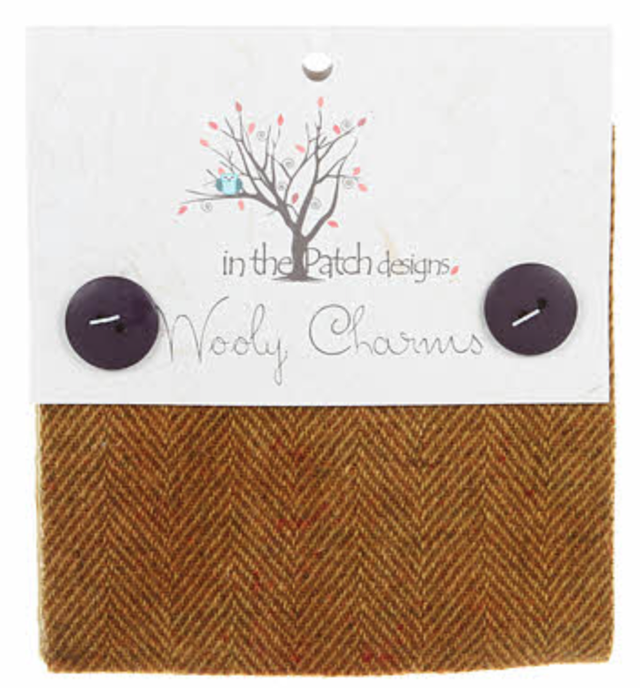 Wooly Charms Cappuccino WC4893 Hand Dyed 100% wool 5in X 5in 5 count