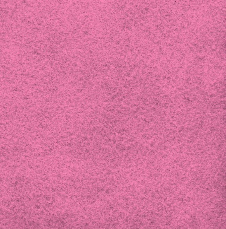 Shocking Pink Wool Felt by National Nonwovens