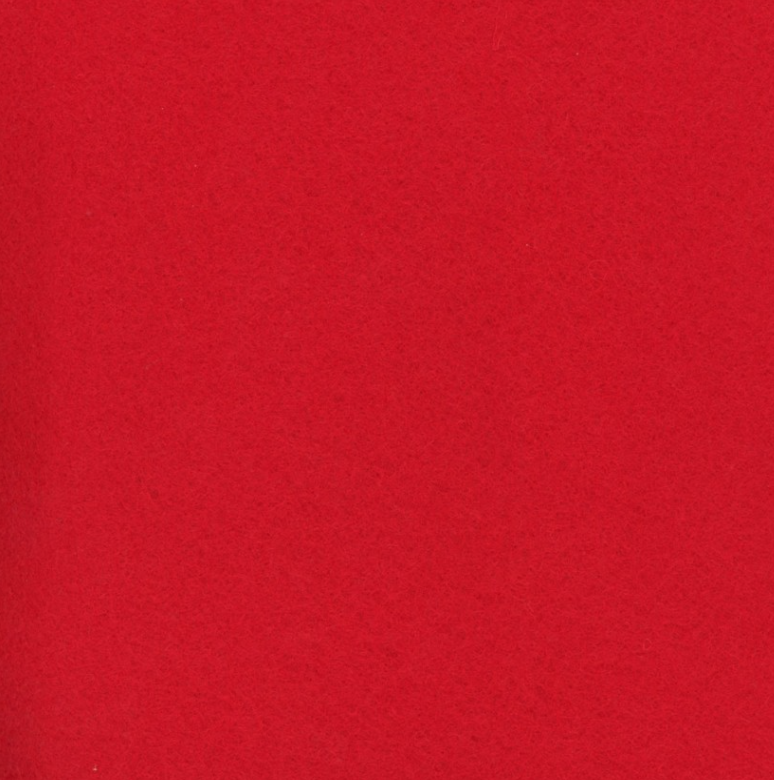 Rocking Red Wool Felt by National Nonwovens