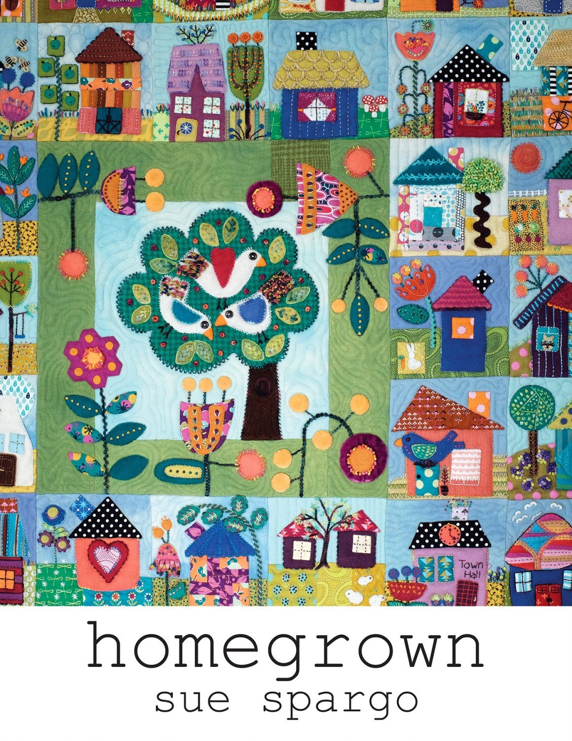 Homegrown Book by Sue Spargo