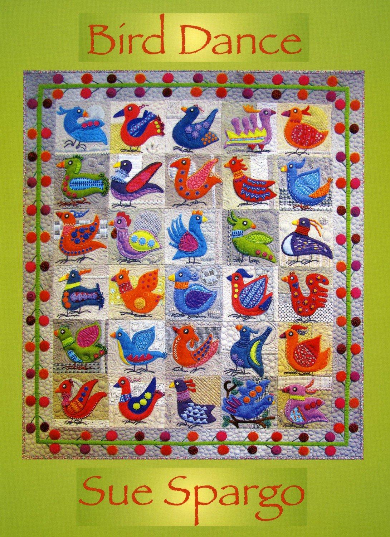 Bird Dance Book by Sue Spargo