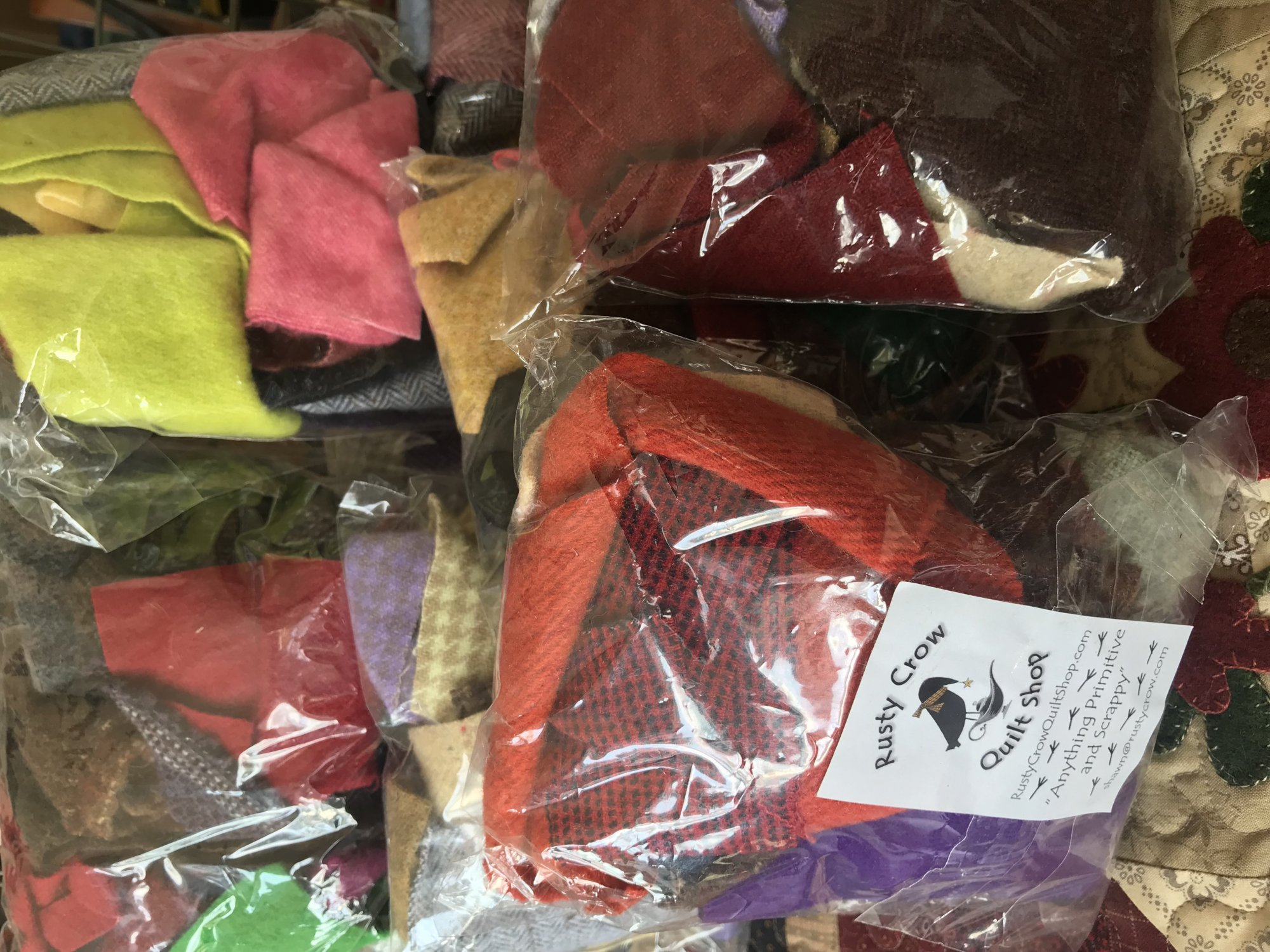 Wool Scrap Bags 100% Wool Washed & Dried (All Felted for you.)
