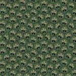 Bristle Creek Farmhouse R22 7888 0114 Green with Small Cream & Dark Print