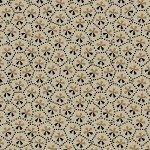 Bristle Creek Farmhouse R22 7888 0190 Taupe with Small Cream & Dark Print