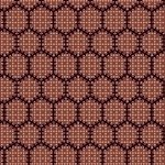 Bristle Creek Farmhouse R22 7890 0111 Red With Black Honeycomb
