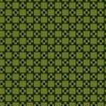 Bristle Creek Farmhouse R22 7892 0114 Green background with Black Blocks