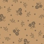 Antique Cotton Calicos Tan  R17 7912 0188 by Pam Buda