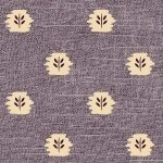 Devon County Purple background with Cream Design R51 7993 0135