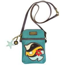 Tropical Fish Cell Phone Purse