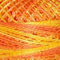V1 Size 12 Orange Blossom - sunny orange yellows sunny orange Valdani