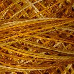 V106  Antique Golds-vintage golds tarnished creams Size 12 Valdani