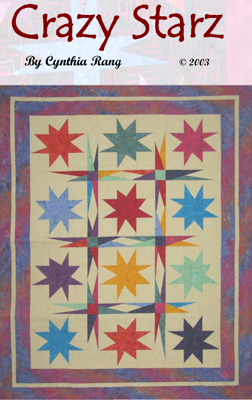 Crazy Stars Downloadable Pattern