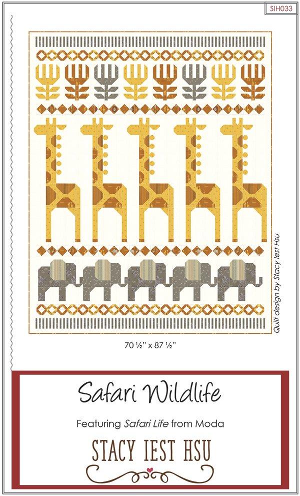 Safari Wildlife Quilt
