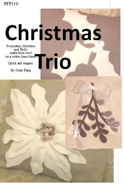 Christmas Trio Pillow