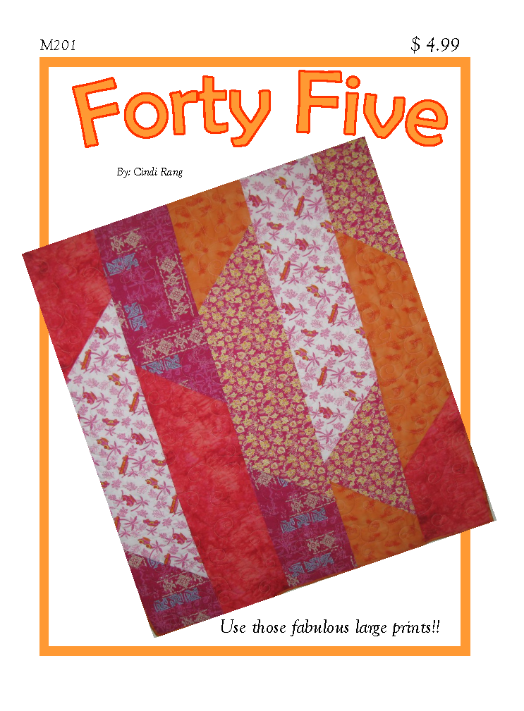 Forty Five Downloadable Pattern