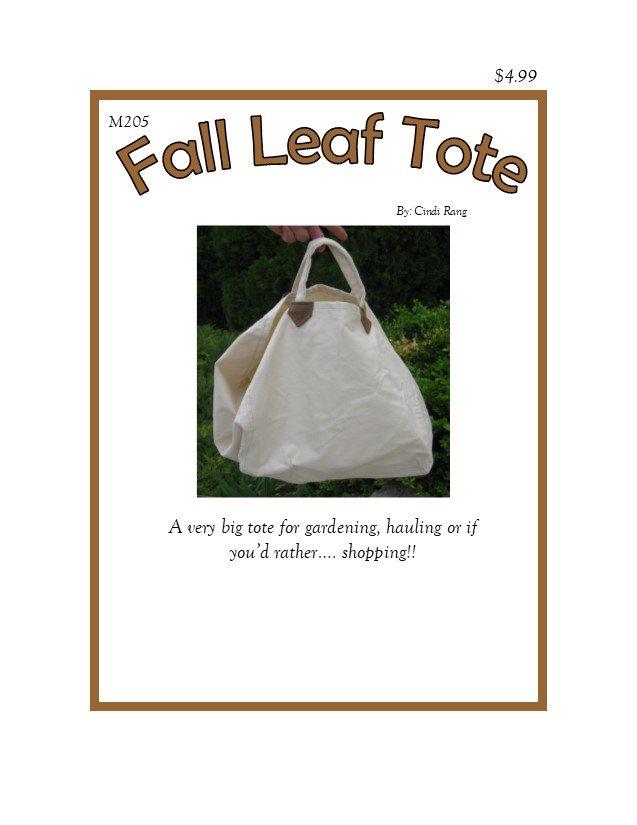 Fall Leaf Tote