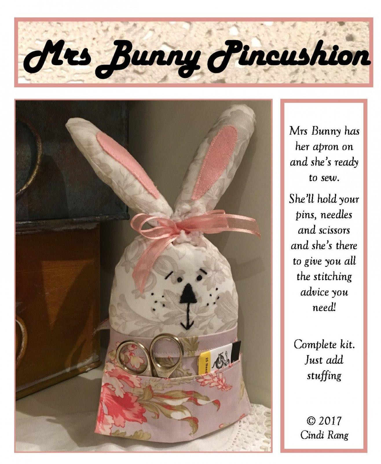 Mrs. Bunny Pincushion