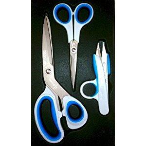 Mundial Titan-Edge Titanium Scissor/Shear 3-Piece Set