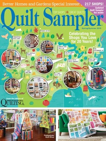 Quilt Sampler Fall/Winter 2015