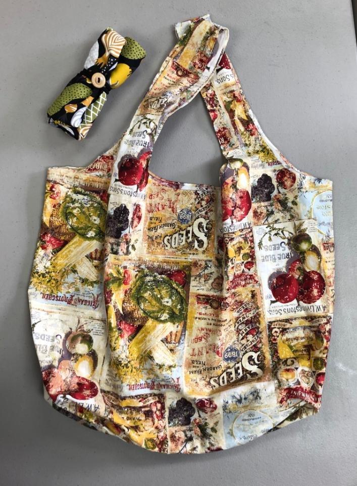 1/2 yard grocery bag