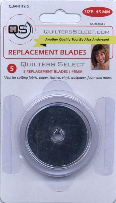 Quilter's Select replacement blades 45MM- 5 count