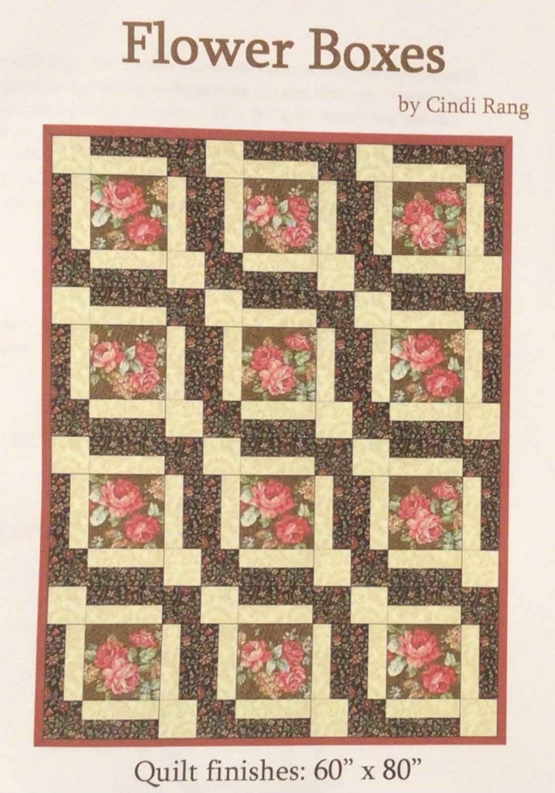 Flower Boxes downloadable pattern