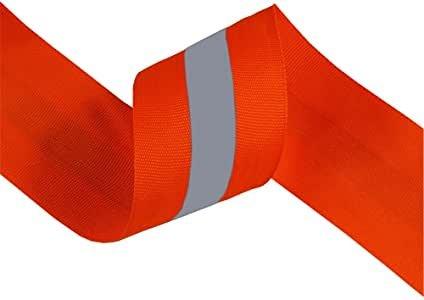 Reflective Ribbon Orange 2