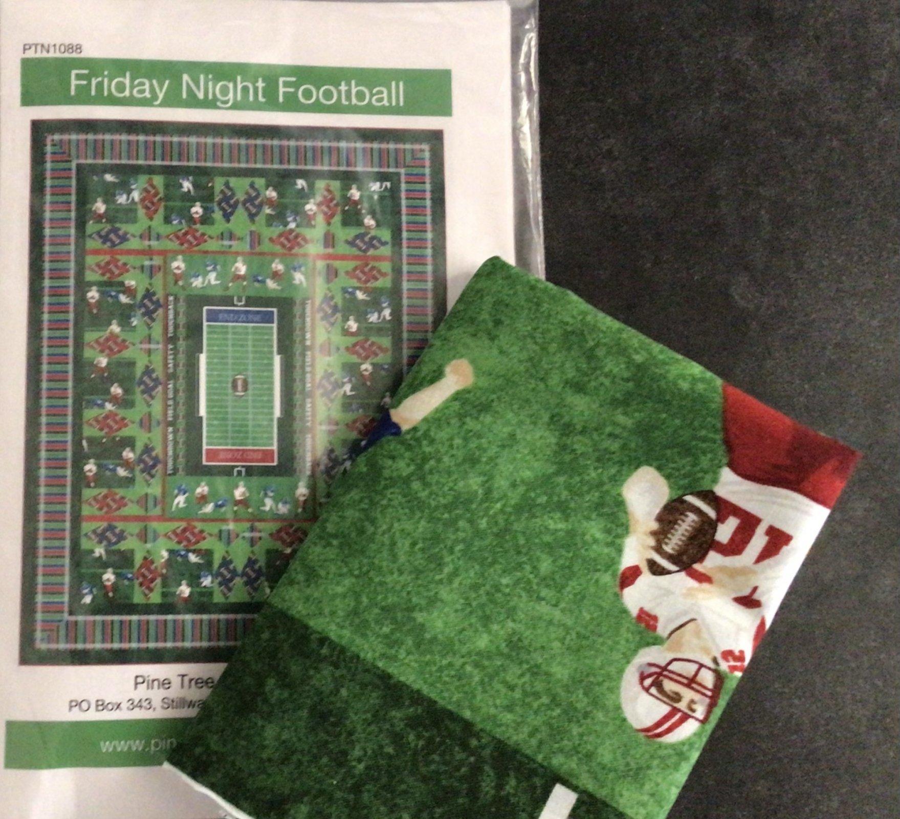 Friday Night Football Pattern and panel