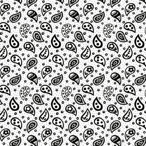 Sweet Tweets White w Black