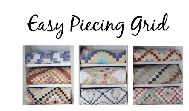 Easy piecing grid