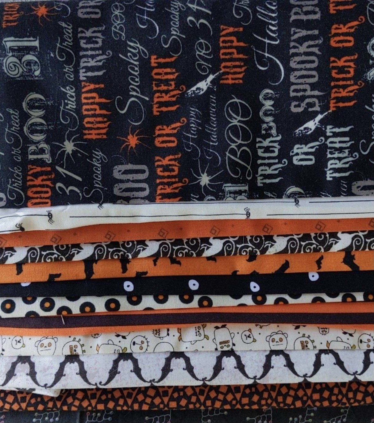 Sept Fabric roll of the month
