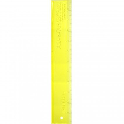 Add a Quarter paper piecing ruler