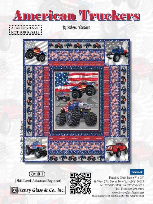 American Truckers FREE Downloadable Pattern
