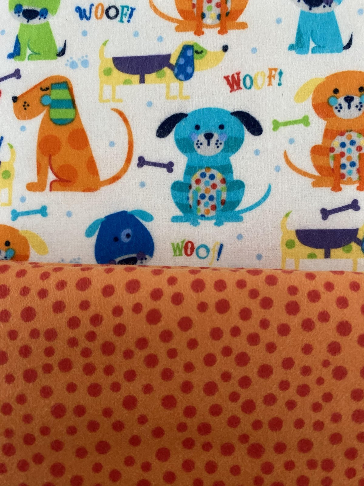 Self Binding Border Blanket Kits