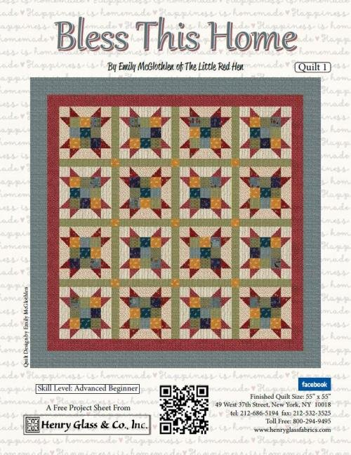 Bless this Home Quilt Pattern