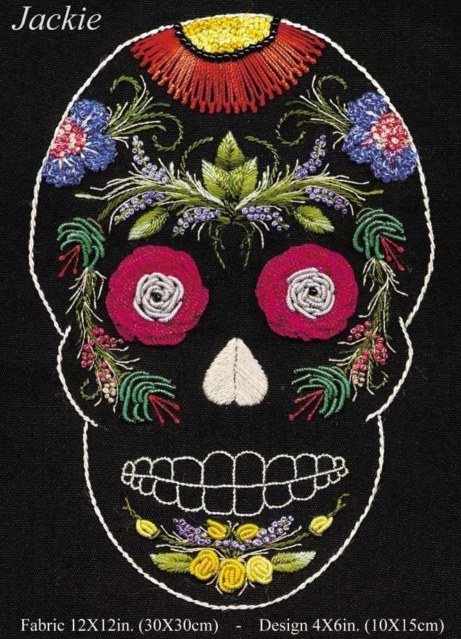 JackieBrazilian hand embroidery