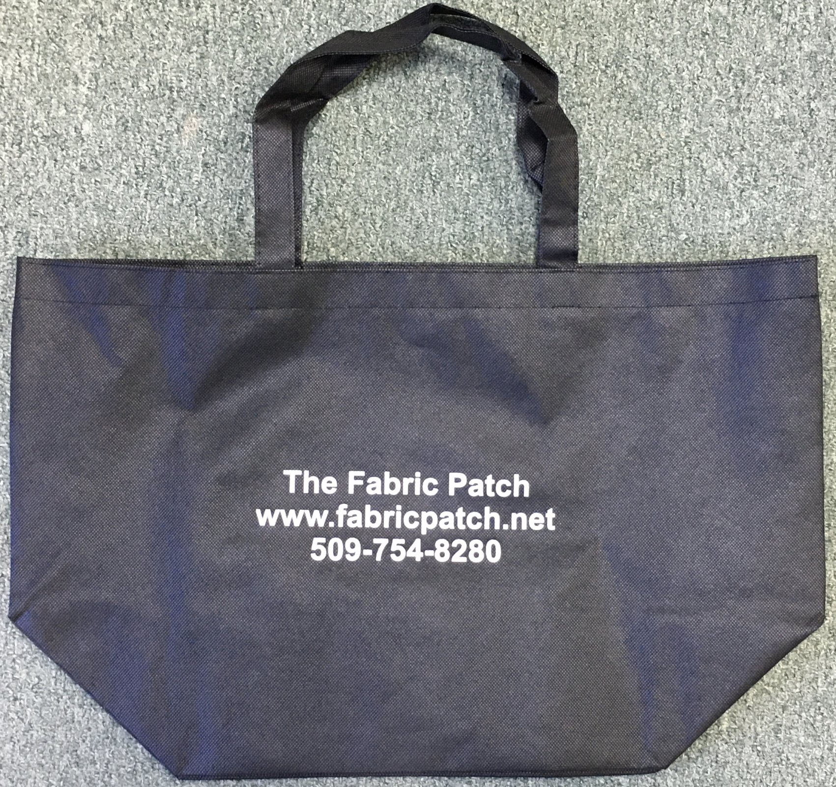 Fabric Patch Reusable Shopping Tote