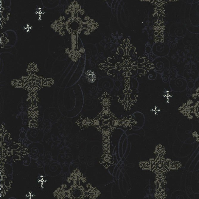 8640-Ornate Cross