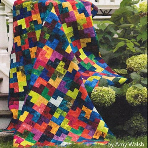Crown Jewels Quilt Kit By Amy Walsh