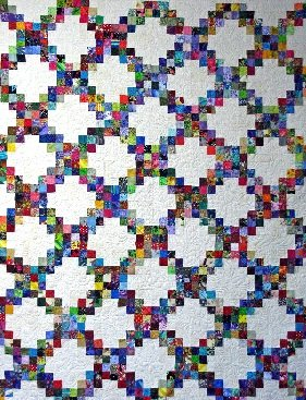 Dumpster Diving Scrap Quilt (Diamond Candy)