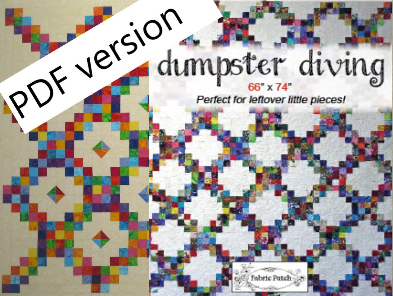 Dumpster Diving and Diamond Candy Downloadable Pattern